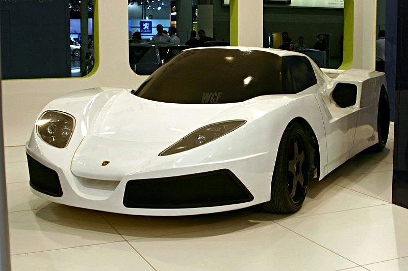 Details of Arash AF-10 Supercar Surface
