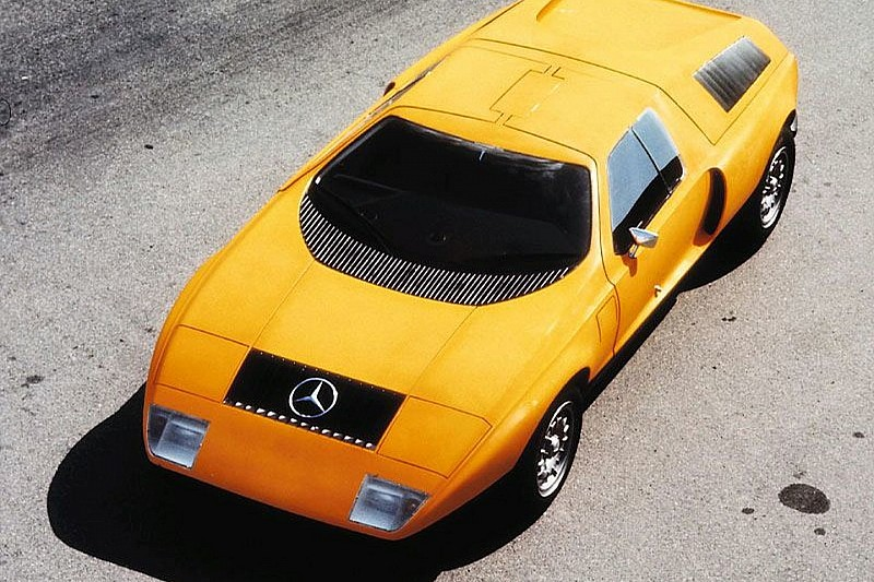 Mercedes-Benz C 111 Power, Elegance and Speed