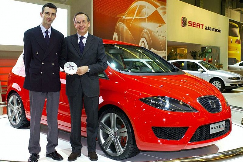 SEAT Altea Prototype Receives European Design Award