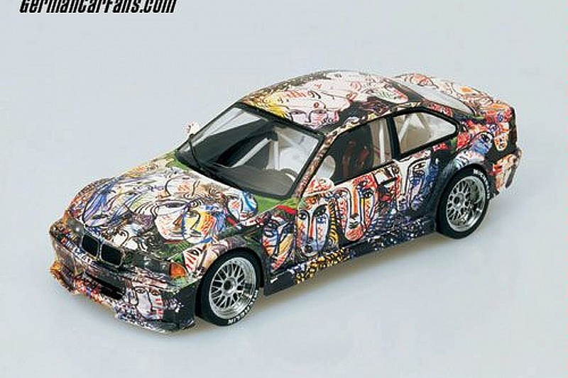 BMW Introduces Scale Models of Art Cars