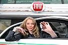 Supermodel Jodie Kidd takes Fiat 500 on Eco-Test Drive