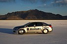 Suzuki Kizashi breaks 200 mph at Bonneville - sets land speed record