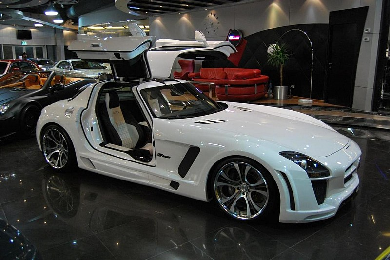 Mercedes SLS AMG widebody styling by FAB Design