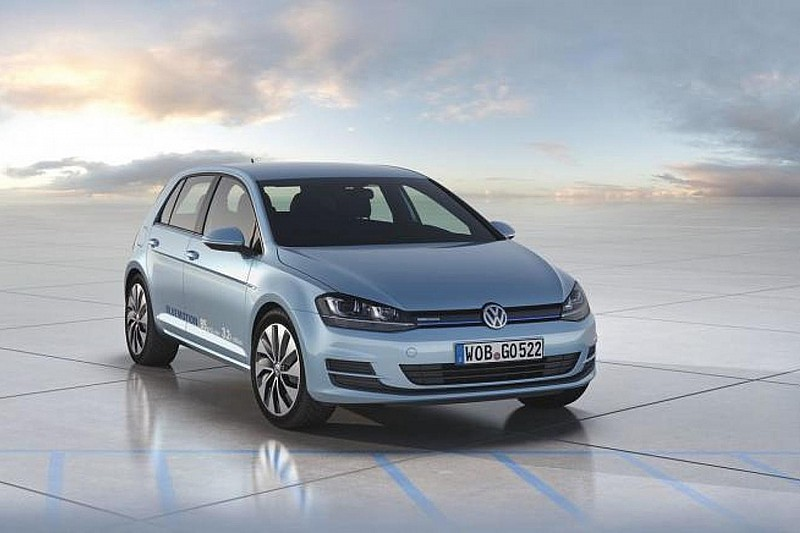 Volkswagen Golf VII BlueMotion concept is the most economical Golf yet