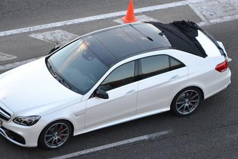 Mercedes E-Class Wagon facelift spy video
