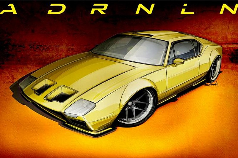 De Tomaso Pantera customized by Ringbrothers to debut in SEMA
