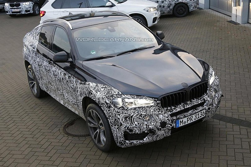 Next-gen BMW X6 spied for the first time