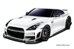 Nissan R35 GT-R by TommyKaira - brilliant white - 800