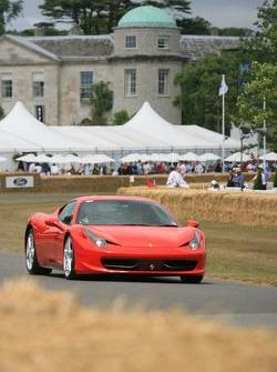Ferrari 458 Italia, Goodwood Festical of Speed 2010, 05.07.2010