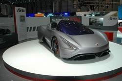 IED Abarth scorpION EV live in Geneva, 673 - 01.03.2011