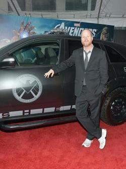 Joss Whedon with S.H.I.E.L.D. Acura MDX 13.4.2012