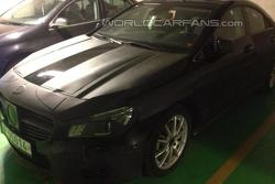 Mercedes-Benz CLA spy photo