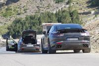 2016 Porsche Panamera spied inside & out