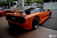 Rare Mosler MT900 GTR photographed