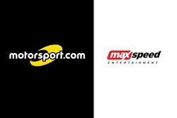 Motorsport.com and MAXSpeed Entertainment logos